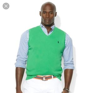 Polo sweater vest